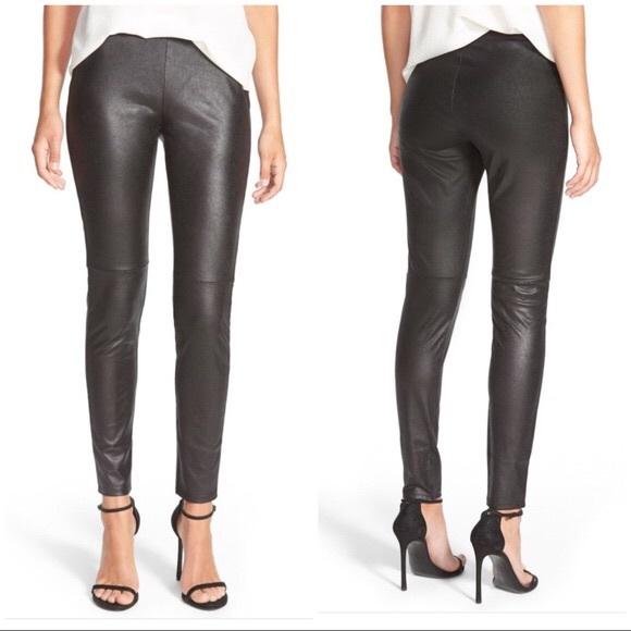 c1e3ce7baf993a Trouve Pants | Trouv Faux Leather Leggings | Poshmark